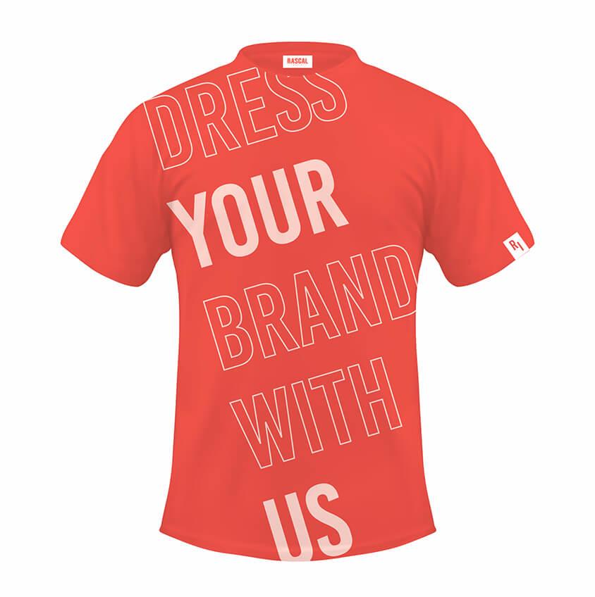 T shirt koral