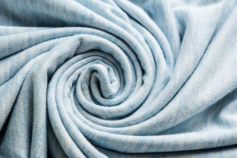 Spiral bamboo fiber fabric / textile industry background material
